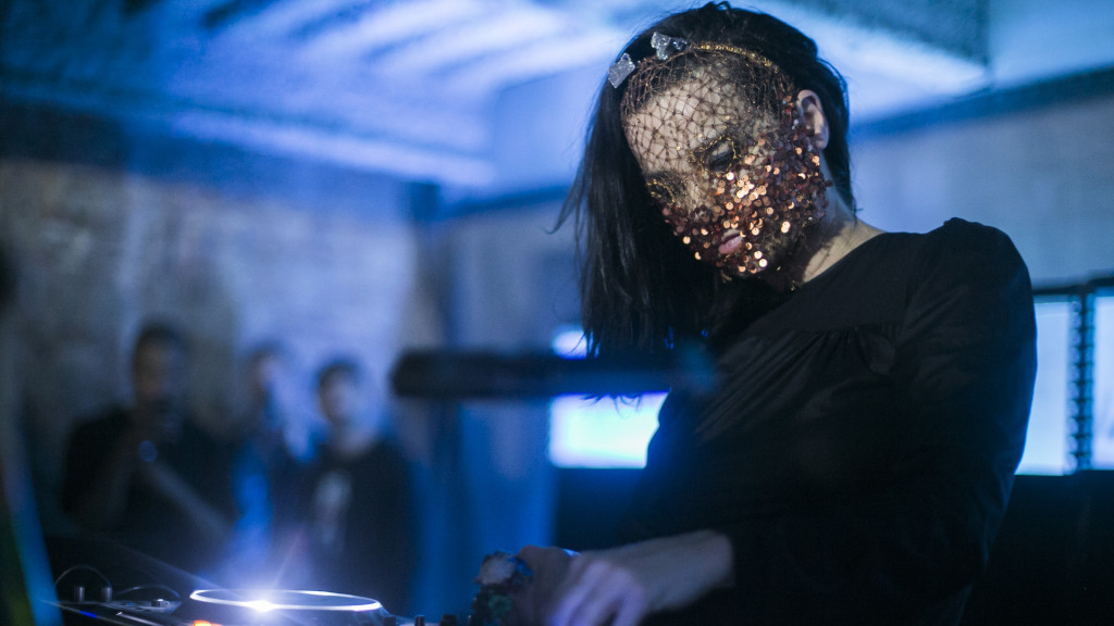 Bjork performs at Red Bull Music Academy Festival at 23 Wall Street, NY, USA on May 15th, 2015. // Maria Jose Govea / Red Bull Content Pool // P-20150518-09003 // Usage for editorial use only // Please go to www.redbullcontentpool.com for further information. //